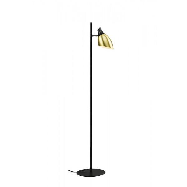 LUNA 112 Podna Lampa 1*E14 (Gold/Black)