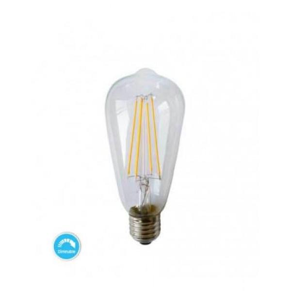 LED SIJALICA FILAMENT ST64 4W 2700K E27 DIM